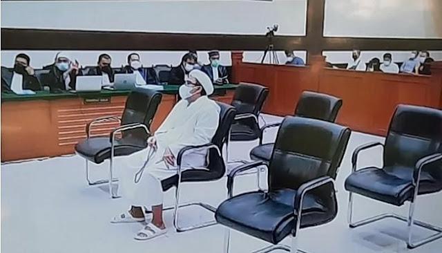 Hal yang Ringankan Vonis Rizieq Shihab, Dianggap Tepati Janji oleh Hakim