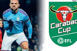 Menonton Streaming Manchester United vs Manchester City di Mola TV Carabao Cup Tanpa Kabel