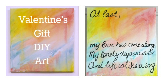 Valentine's Day Gift: DIY Art Tutorial- Love That Party