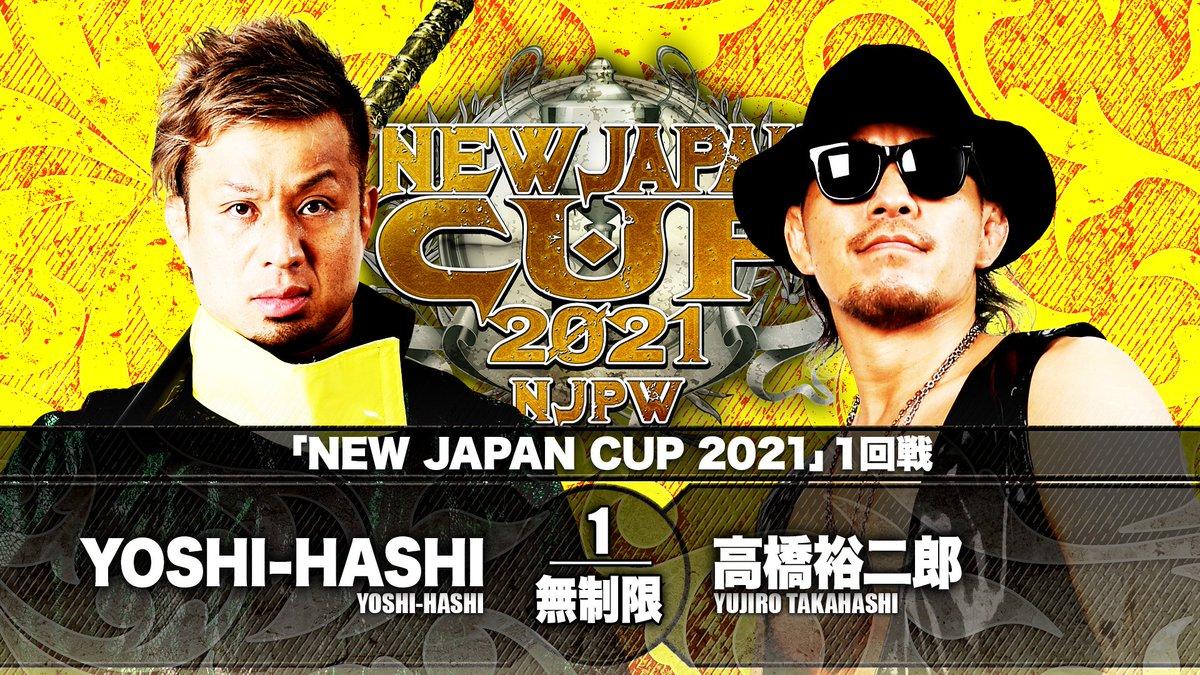 Cobertura: NJPW New Japan Cup 2021 – Day 05 – Era do caos!