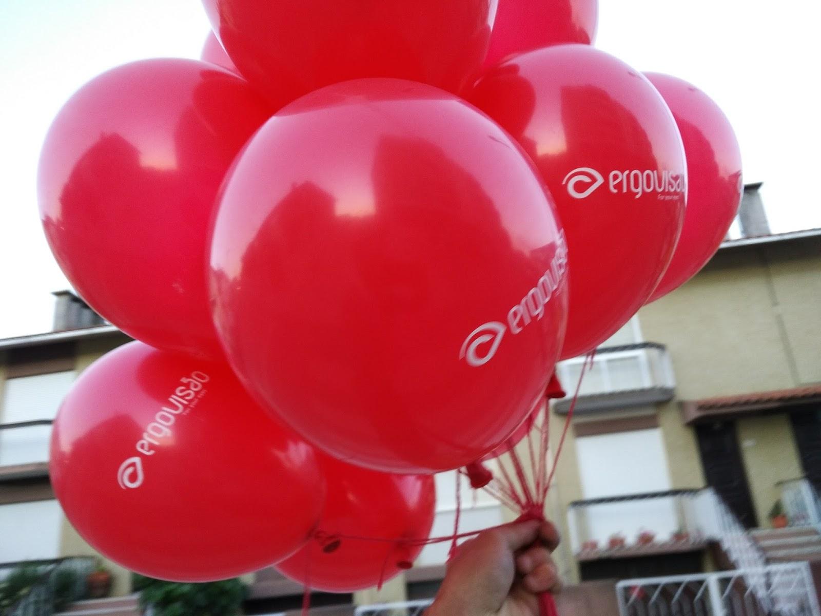 Enchimento de balões hélio