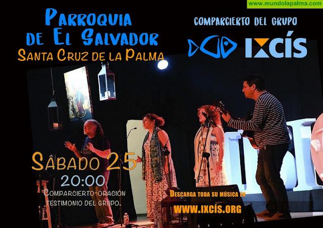 Comparcierto del Grupo Ixcís en Santa Cruz de La Palma