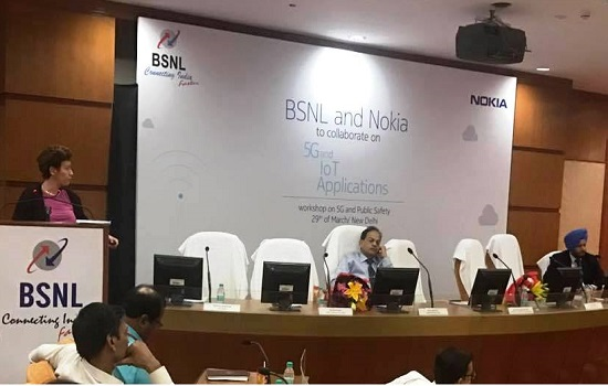 BSNL and Nokia together to develop 5G ecosystem in India, Organize first workshop on 5G domain