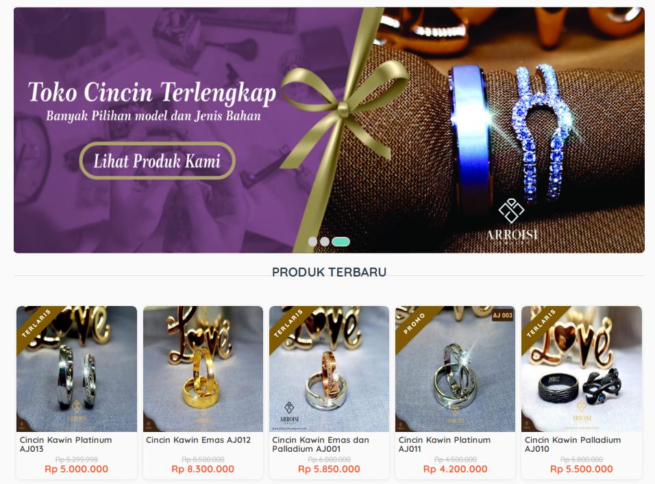 Home Made - Toko Cincin Kawin Custom Jogja Paling Hits