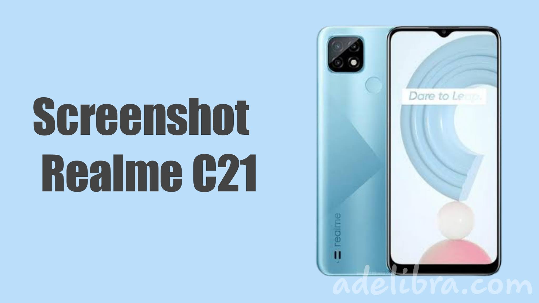 Screenshot Realme C21