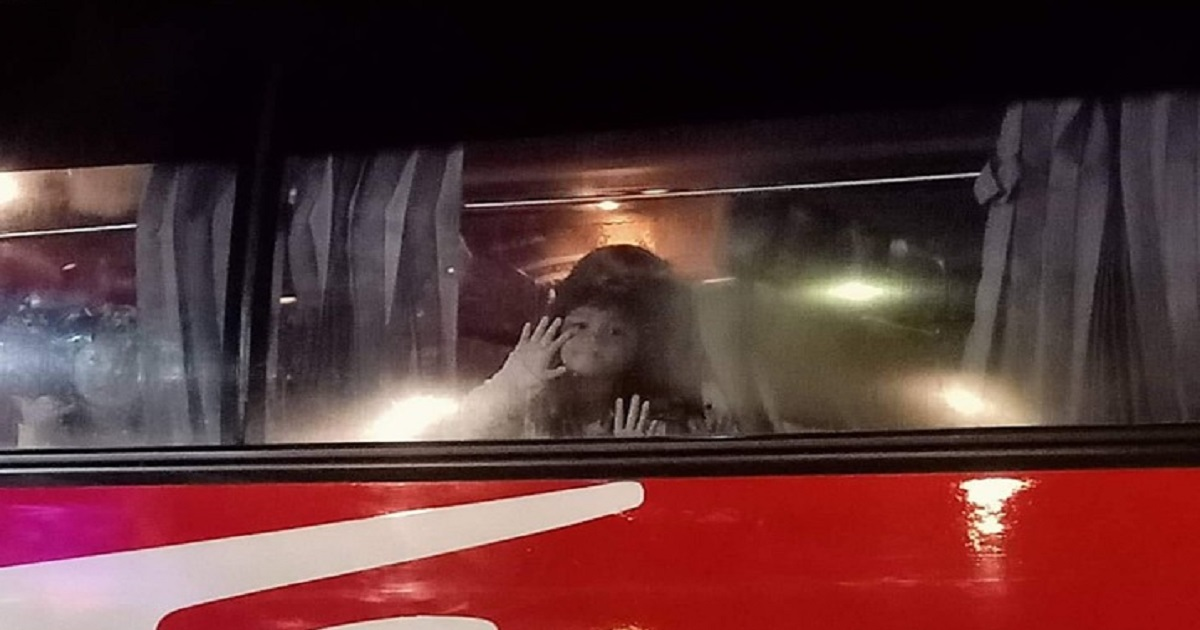 Creepy photo of girl in bus makes her mom stop her joining the field trip