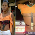 Checkout Pretty female robber arrested with gun and knife strapped to her body