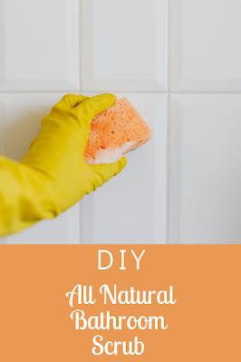 DIY All Natural Bathroom Scrub