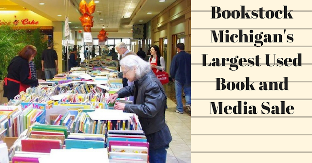Bookstock Michigan's Largest Used Book & media sale, books, metro detroit, Livonia