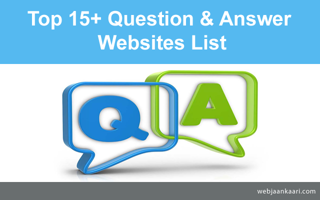 How-do-Top-High-PR-Question-and-Answer-Websites-List