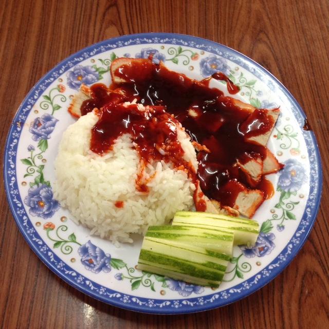 Laotian red pork in Vientiane, Laos