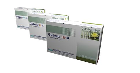 سعر ودواعي استعمال اقراص جلوبيكسور Globexor للاكتئاب