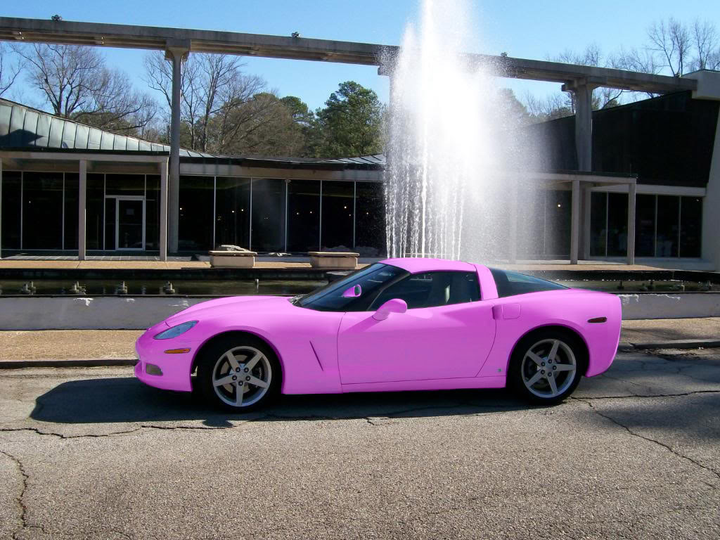 the automobile and american life think pink some pink cars that mary kay folks should consider. Black Bedroom Furniture Sets. Home Design Ideas