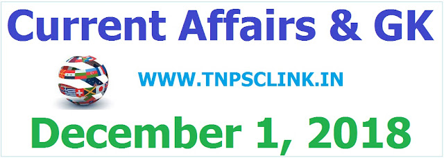 Current Affairs December 2018 - Read and Download