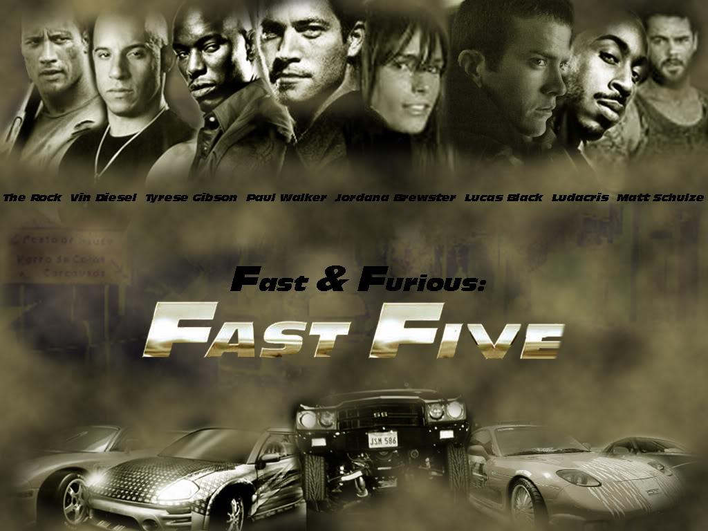 Fast And Furious Fast Five – Migliori Pagine da Colorare