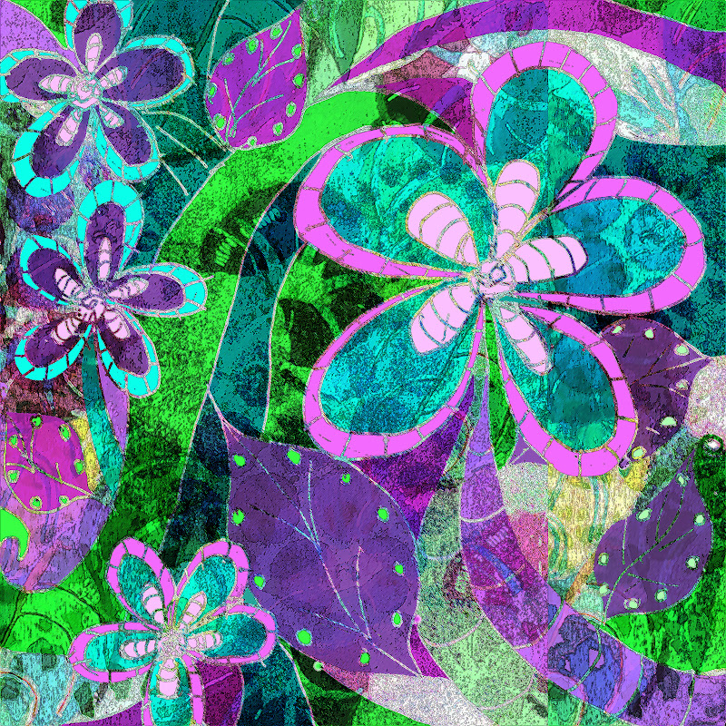 A Little Color Every Day Soartful Challenge Magic Garden