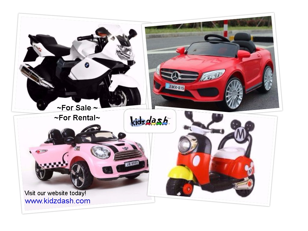Kiddy rides for sale and rental