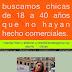 CASTING en BUENOS AIRES: Se buscan CHICAS de 18 a 40 años que no hayan hecho comerciales