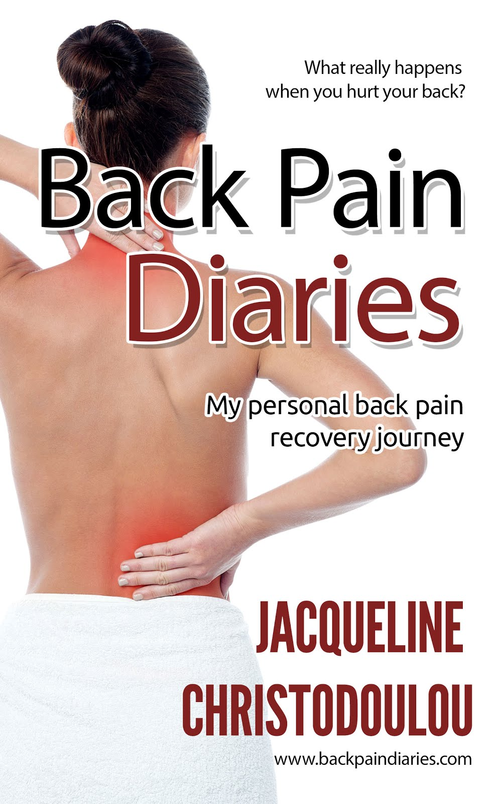 Back Pain Diaries - full diary of my back pain recovery journey