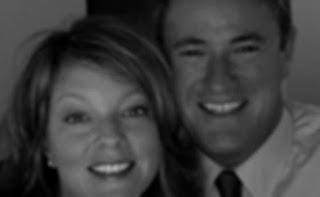 Black & White picture of Melanie Hinton with her ex-spouse Joe Scarborough