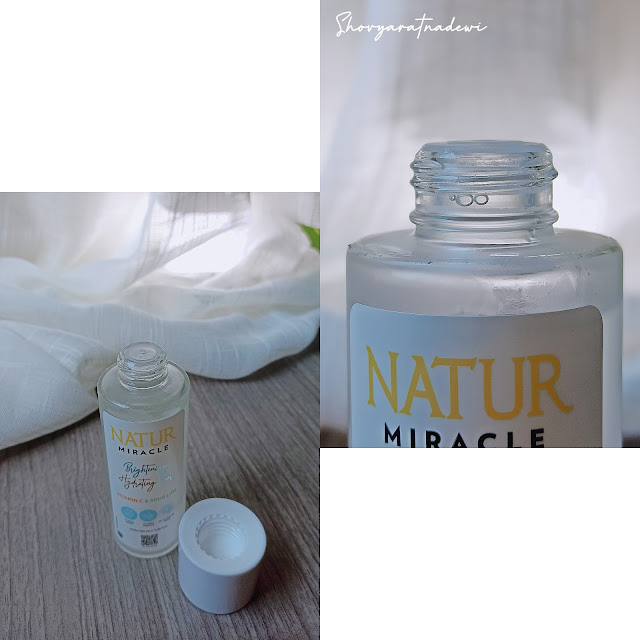 Natur Miracle Brightening Hydrating Toner : Vit. C & Sour Lime