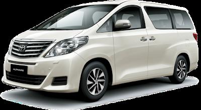 Rental Mobil Alphard di Bandung