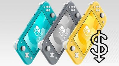 Nintendo Switch Lite is inexpensive