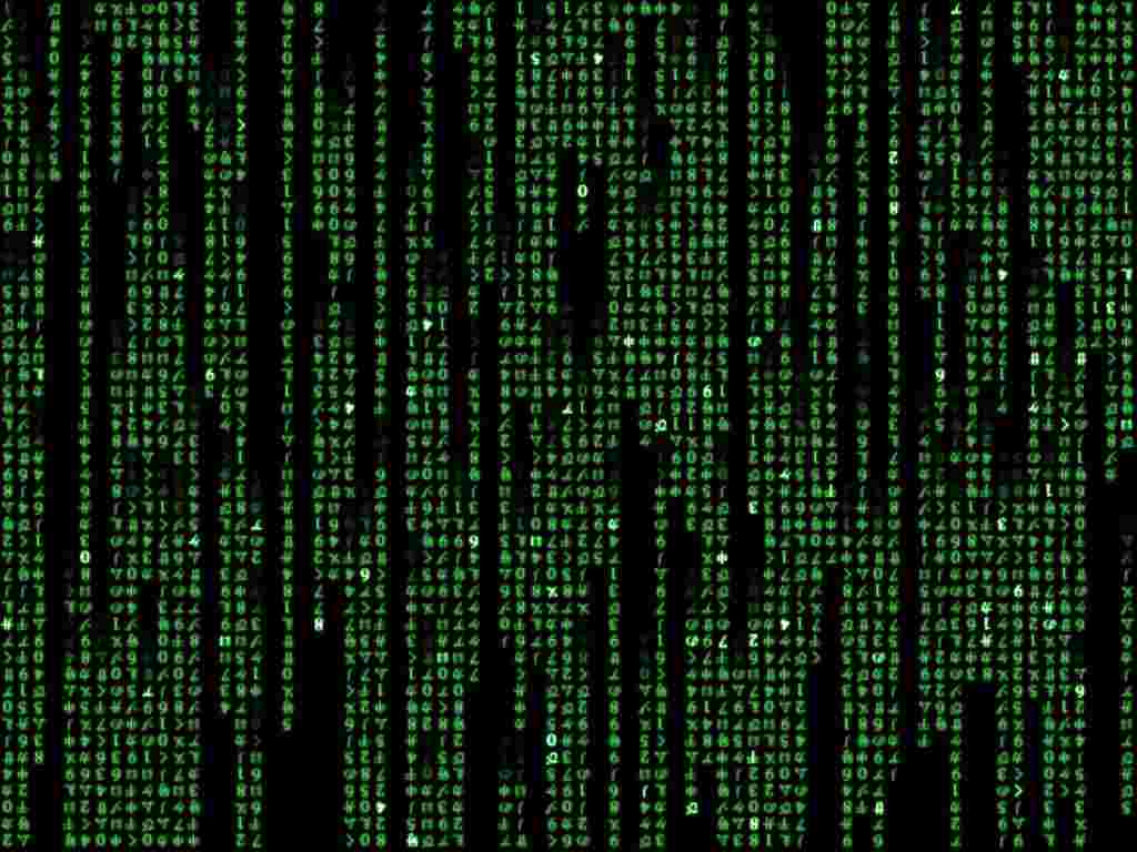 Matrix Code Effect In Command Prompt