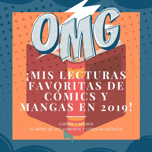 ¡Mis lecturas de cómics y mangas de 2019!