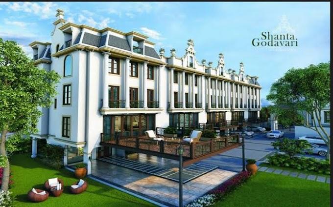 सूरत के वेसू क्षेत्र में शांता गोदावरी इन्फ्रा द्वारा शांता गोदावरी शानदार विला, Shanta Godavari Luxurious Villas by Shanta Godavari Infra at Vesu area of Surat.