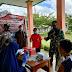 Danramil 02 Muara Siberut Turun Langsung Dampingi Proses Vaksinasi Siswa Siswi SMP N 2 Madobag