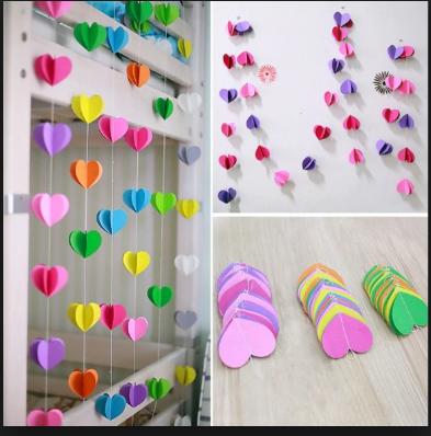 11 Tutorial Membuat Hiasan Dinding Dari Kertas Mudah Sederhana Dan Tidak Menguras Kantong 10