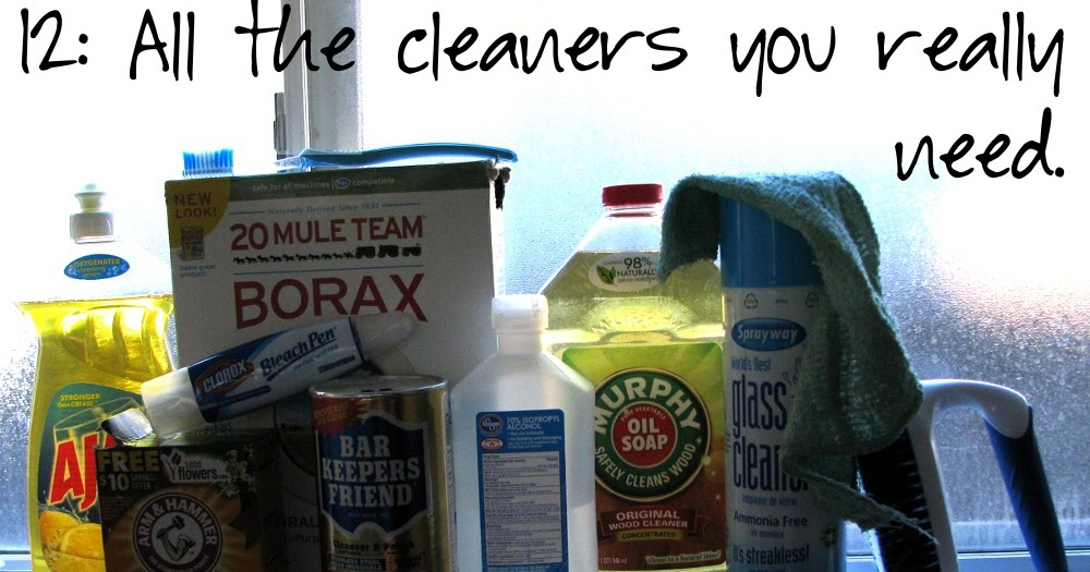 12 Cleaning Staples