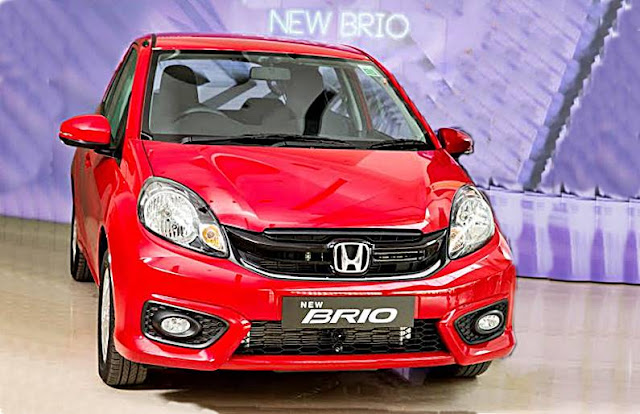 New Honda Brio RS Hatchback Review Indonesia