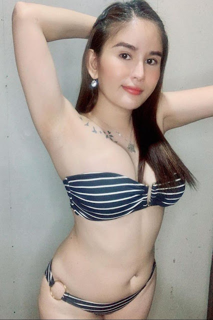 Hot and sexy big boobs photos of beautiful busty asian hottie chick booty Pinay freelance model Ellajane Comendador photo highlights on Pinays Finest sexy nude photo collection site.