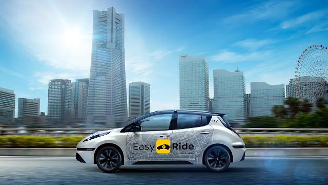 NISSAN, sürücüsüz taksi çözümü Easy Ride'ı tanıttı, isteseniz test edebilirsiniz
