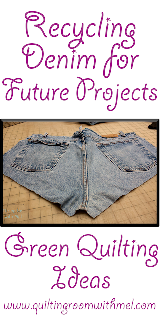 recycling denim for future projects