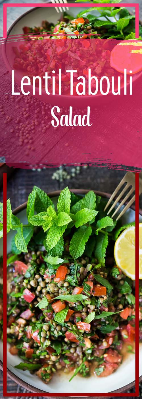 Lentil Tabouli Salad Recipe