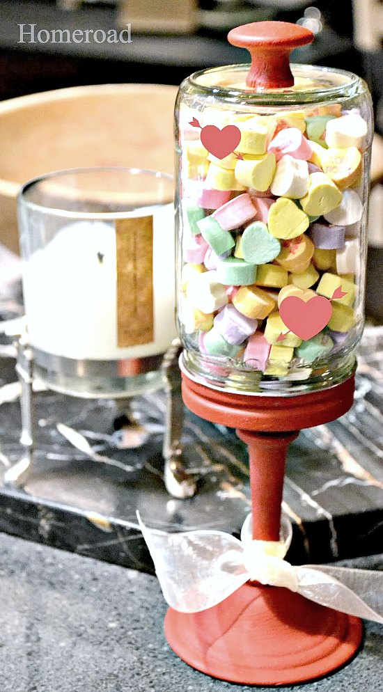 Easy Valentine Cloche to fill with candy