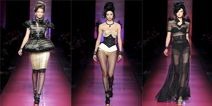 JEAN PAUL GAULTIER: Tribute to AMY WINEHOUSE