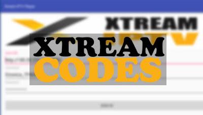 Xtream code 15-07-2019