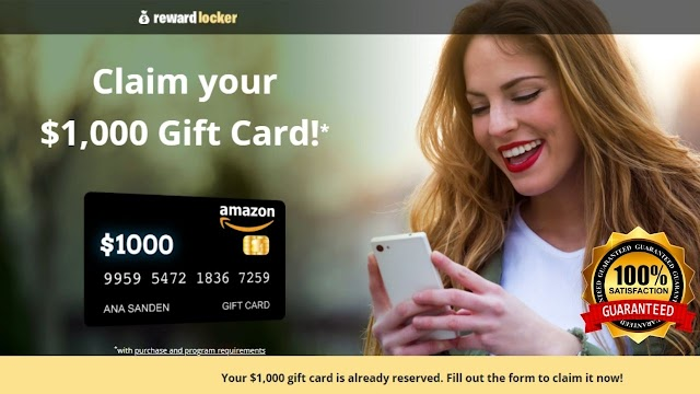 Get a $1000 Amazon Gift Card!   Try Your Luck! 2021