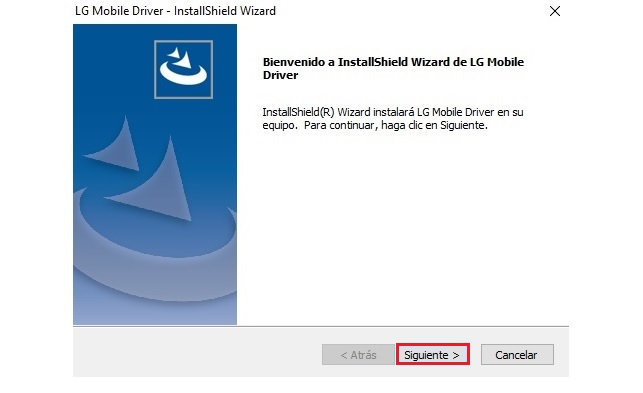 Instalación de drivers USB LG en Windows paso a paso