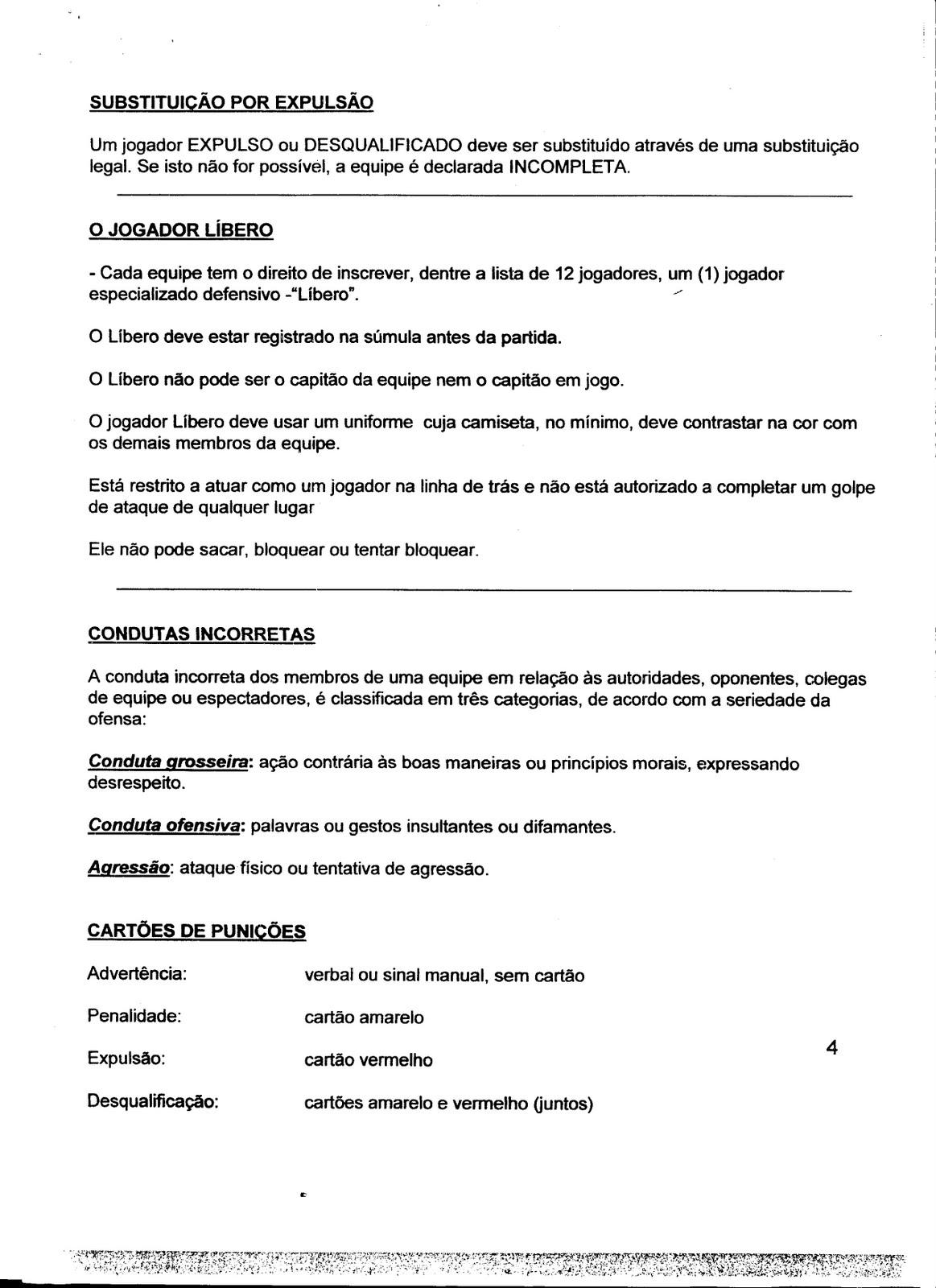 ... ENSINO MÉDIO - REGRAS DO VOLEIBOL. Postado por Educação Física - Prof.  Moises Navarro às 14 40 653c0ae14613e