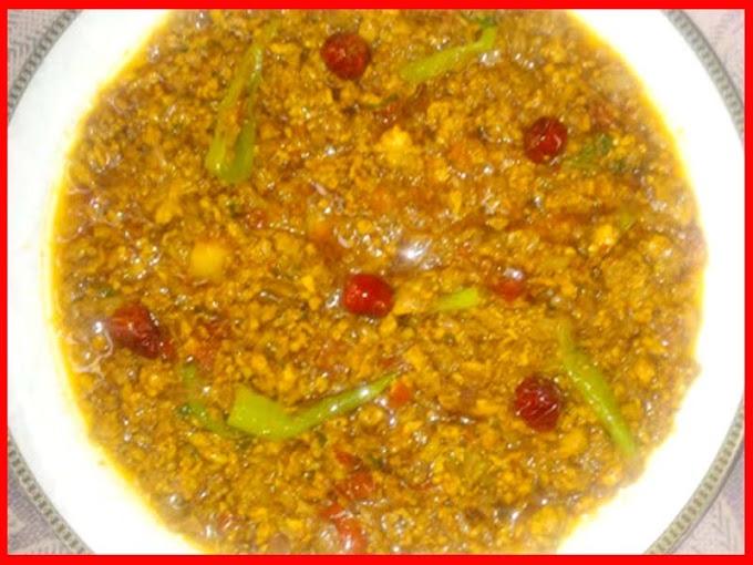 Super Tasty Chicken Karahi Mince Recipe