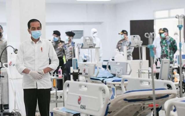 Jokowi Ungkap Nominal Insentif Tenaga Medis Corona