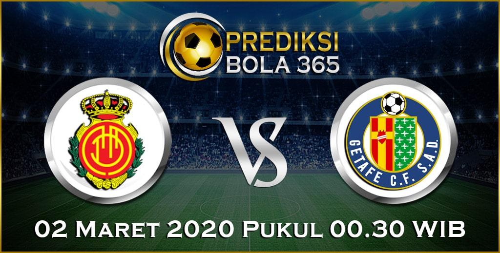 Prediksi Skor Bola Mallorca vs Getafe 02 Maret 2020