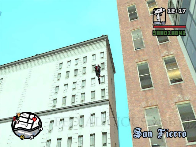 Unique Stunt Jump ke #40 GTA SA
