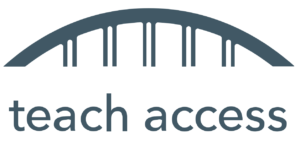 logotipo de teach access