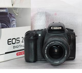 harga Canon EOS 20D Seken